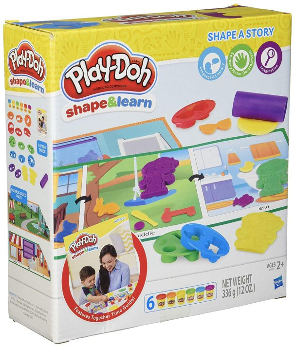 Amazon India : Play-Doh Shape and Learn Shape a Story (20.3 cm)