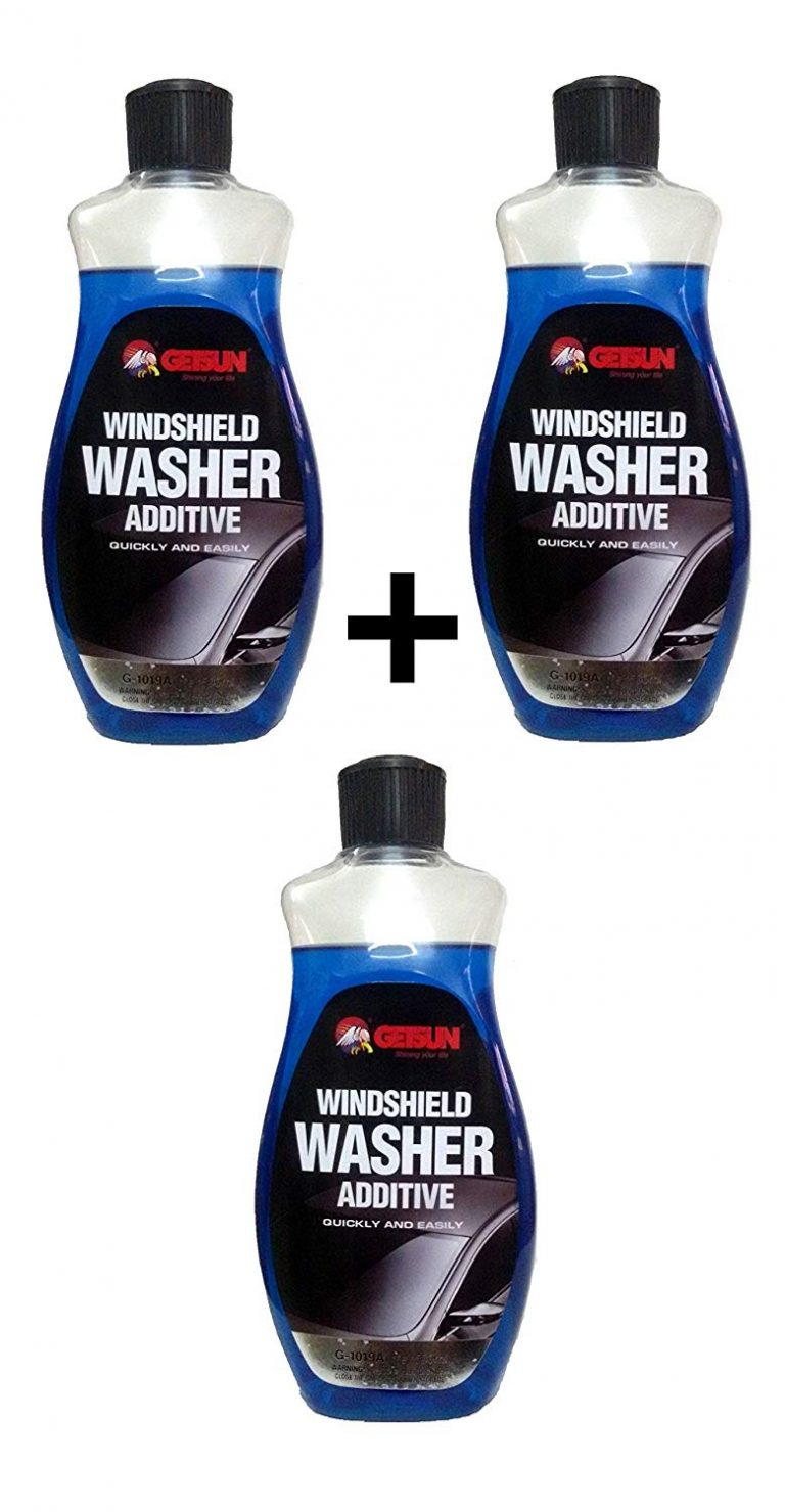 Amazon India : Getsun G-1019A Windshield Washer Additive Liquid Cleaner (500ml, 3 Pieces)