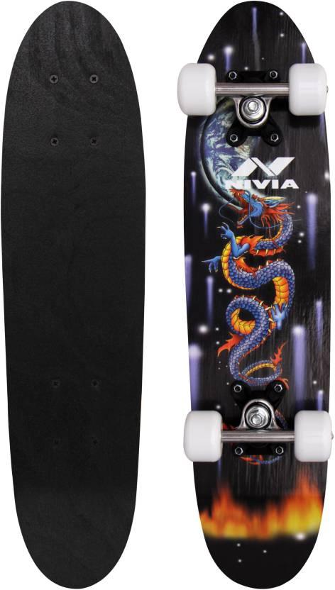 Flipkart : Nivia sk-801-j 6 inch x 24 inch Skateboard  (Black, Pack of 1)