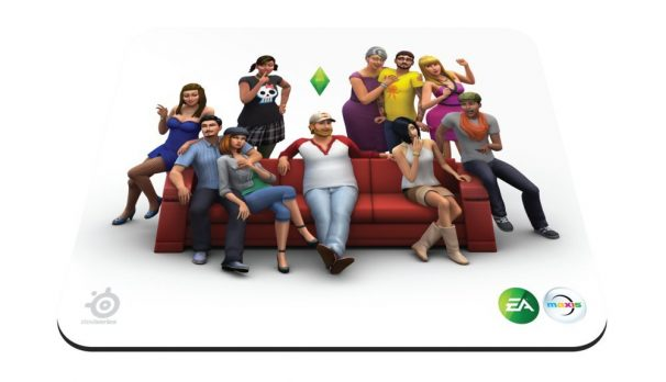 Amazon India : SteelSeries Qck The Sims 4 Edition 67292 - Mouse pad