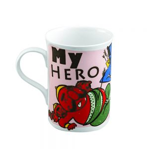 Amazon India : Pyaala Anne Ram Milk Mug, 350ml/7cm, Multicolour