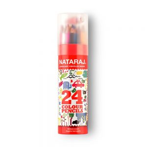 Amazon India : Nataraj 201256002 Color Pencils - 24 Shades (Multicolor)