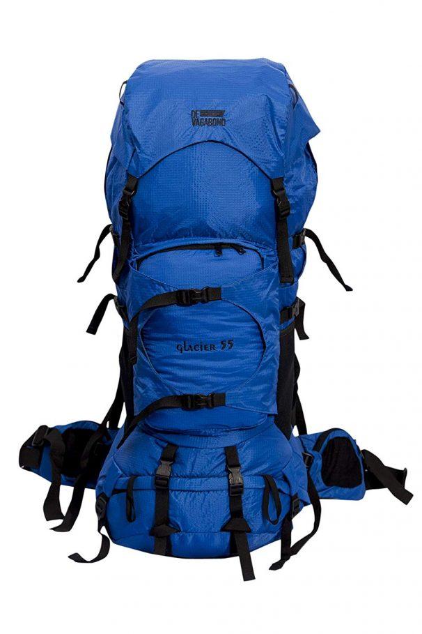 Amazon India : Devagabond 55 Ltrs Royal Blue Rucksack (Glacier Royal 55_1_ Blue)