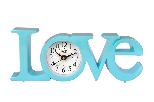 Amazon India : Altra Plastic Analog Wall Clock (25 cm x 10 cm x 5 cm, Sky Blue)