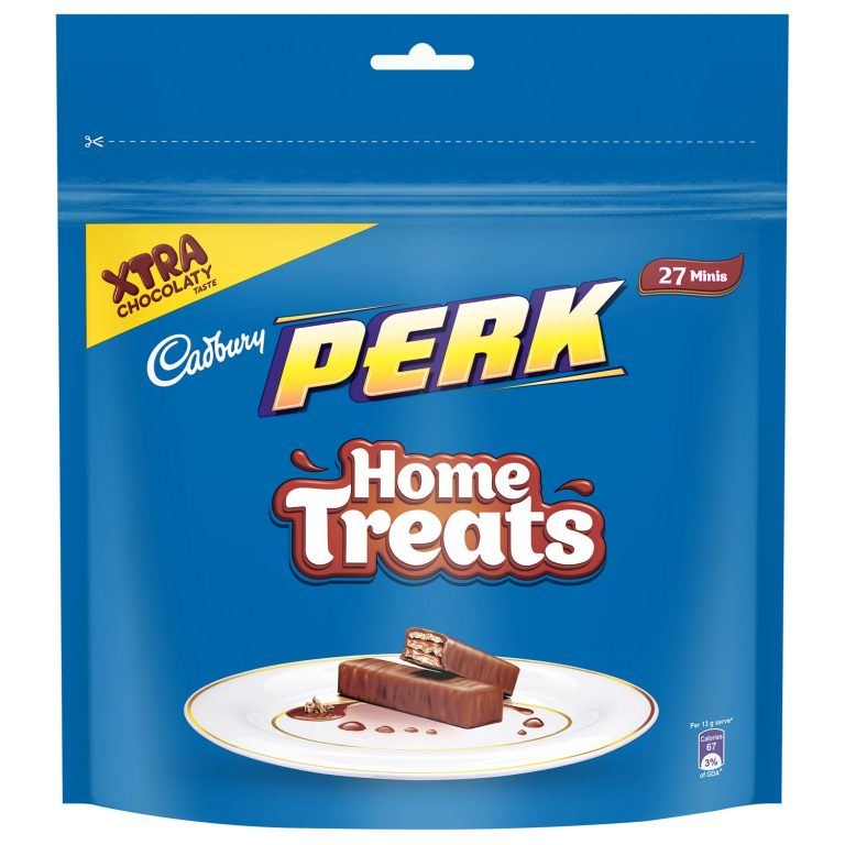 Amazon India : Cadbury Perk Chocolate Home Treats, (193 gm, Pack of 4)