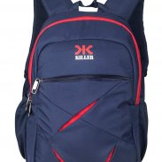Amazon India : KILLER Polyester 27 Ltr Navy Blue Laptop Backpack