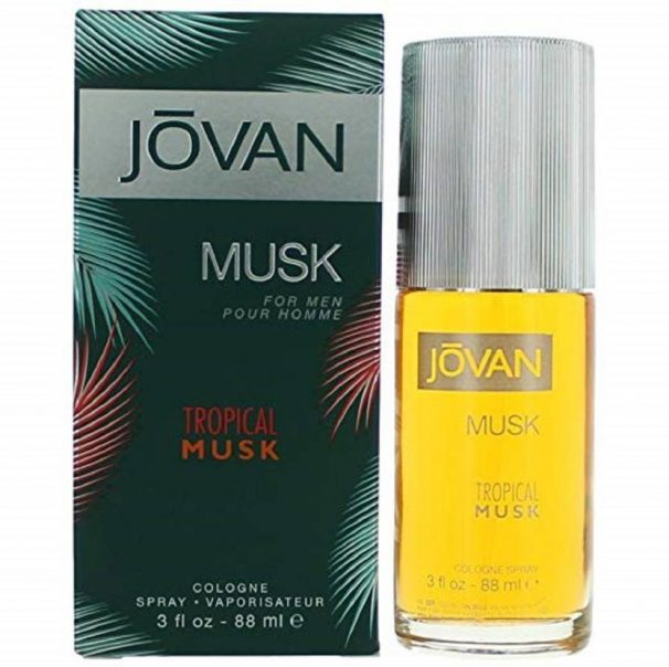 Flipkart : Jovan Tropical Musk Eau de Cologne - 88 ml  (For Men)