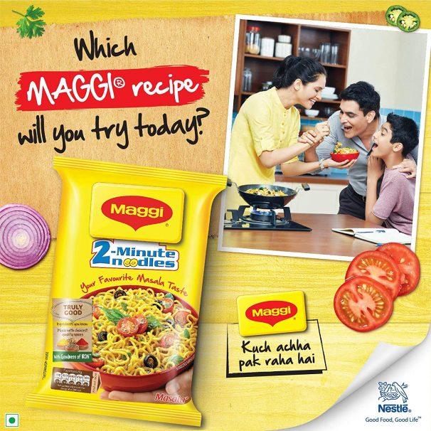 Amazon India : Nestle Maggi 2-minute Instant Noodles, Masala - 560g Pouch