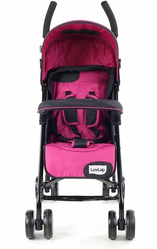 Flipkart : LuvLap Baby Stroller_7 Stroller  (3, Pink)