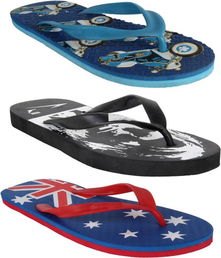 Flipkart : Oricum COMBO-507-237-506 Slippers