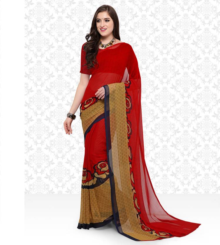 Flipkart : Fashion Chiffon Sarees