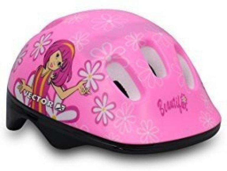 Flipkart : Vector X H5-KIDS-PINK Cycling Helmet  (Pink)