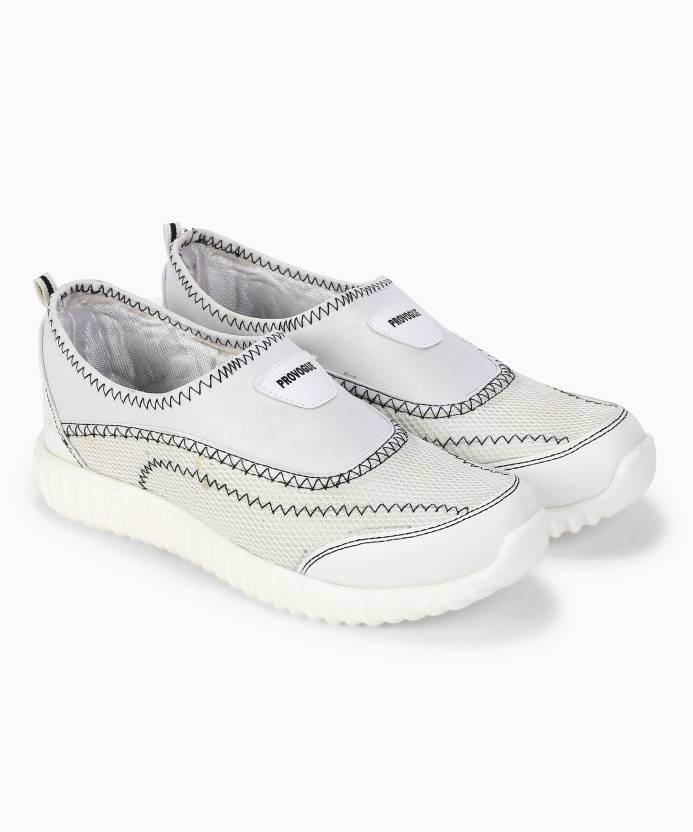 Flipkart : Provogue Walking Shoes For Men (White)