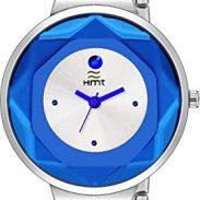 Amazon India : HEMT White Dial Day n Date Display Analog Wrist Watch