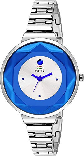 Amazon India : HEMT White Dial Day n Date Display Analog Wrist Watch