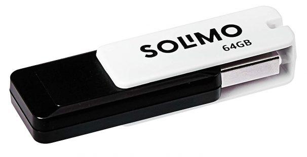 Amazon India : Solimo BlitzTransfer 64GB USB 2.0 Pendrive