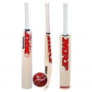 Amazon India : MRFF Genius Virat Kohli Kashmir Willow Cricket Bat with Ball