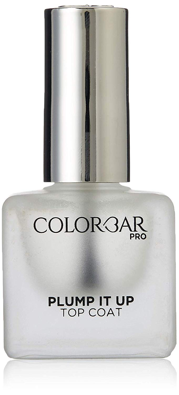 Amazon India : Colorbar Plump It Up Top Coat, Clear, 12 ml