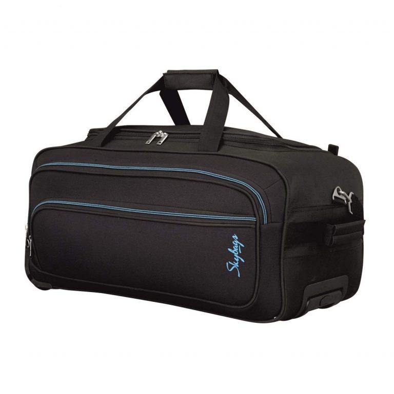 Amazon India : Skybags Scot Plus Polyester 64 cms Black Travel Duffle