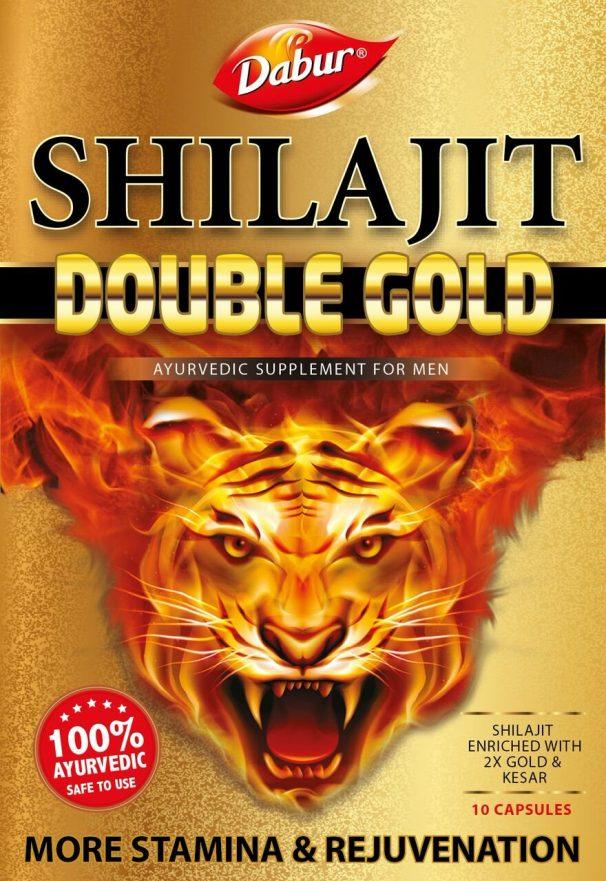 Amazon India : Dabur Shilajit Double Gold - 10 Capsules