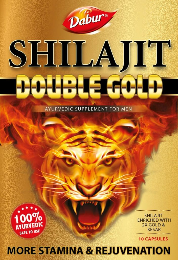 Amazon India : Dabur Shilajit Double Gold - 10 Capsules