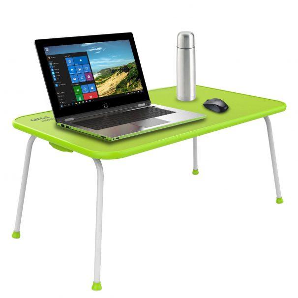 Amazon India : Gizga Essentials Multipurpose Table - Laptop Table (Neon Green)