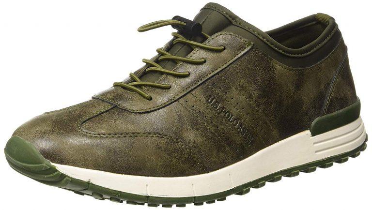 Amazon India : US Polo Association Men's Olive Sneakers-9 UK/India (43 EU) (2531827074)