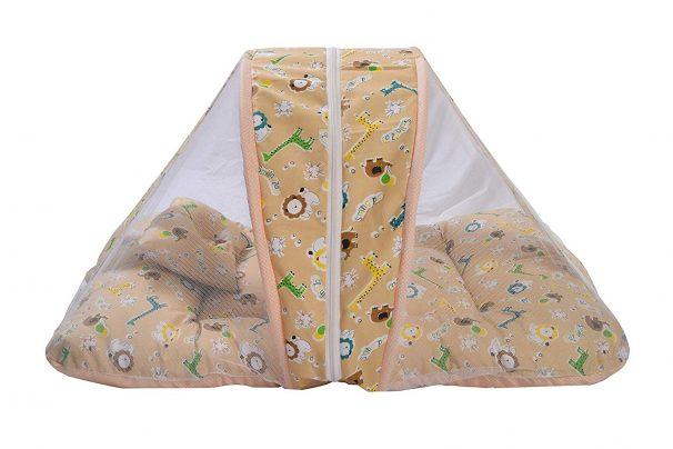 Amazon India : Baby Fly New Born Baby Bedding Set/Baby Mosquito Net Bed - Orange