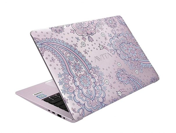 Amazon India : AVITA LIBER 14-inch Laptop (Core i5-7Y54/8GB//Windows 10 Home/Integrated Graphics), Paisley on Lilac