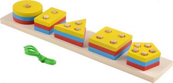 Flipkart : Skillofun Geo Sorting Board  (Yellow, White)