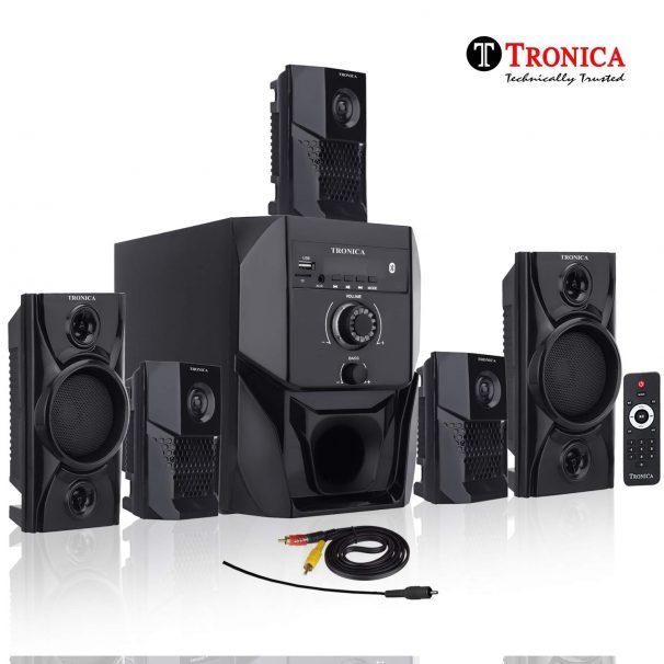 Amazon India : Tronica Super King Series 5.1 Bluetooth Multimedia Speakers