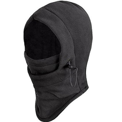 Amazon India : New Polar Fleece Balaclava Warm Full Face Cover Winter Camping Ski hiking snow Mask Beanie Cs Hat