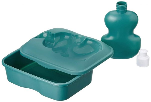 Amazon India : Solimo Lunch Box with Sipper Bottle, Green