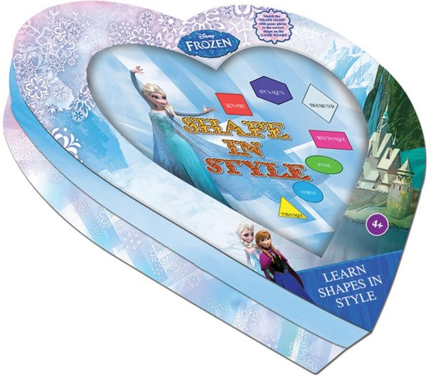Amazon India : Sterling Learn Shapes in Style - Frozen, Multi Color
