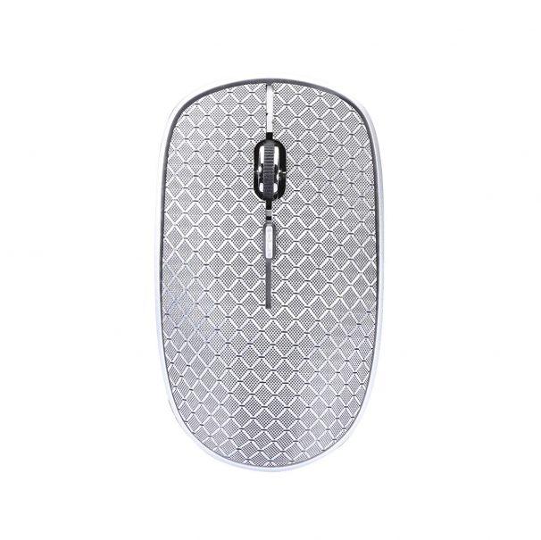 Amazon India : Live Tech Denim Wireless Mouse (Silver)
