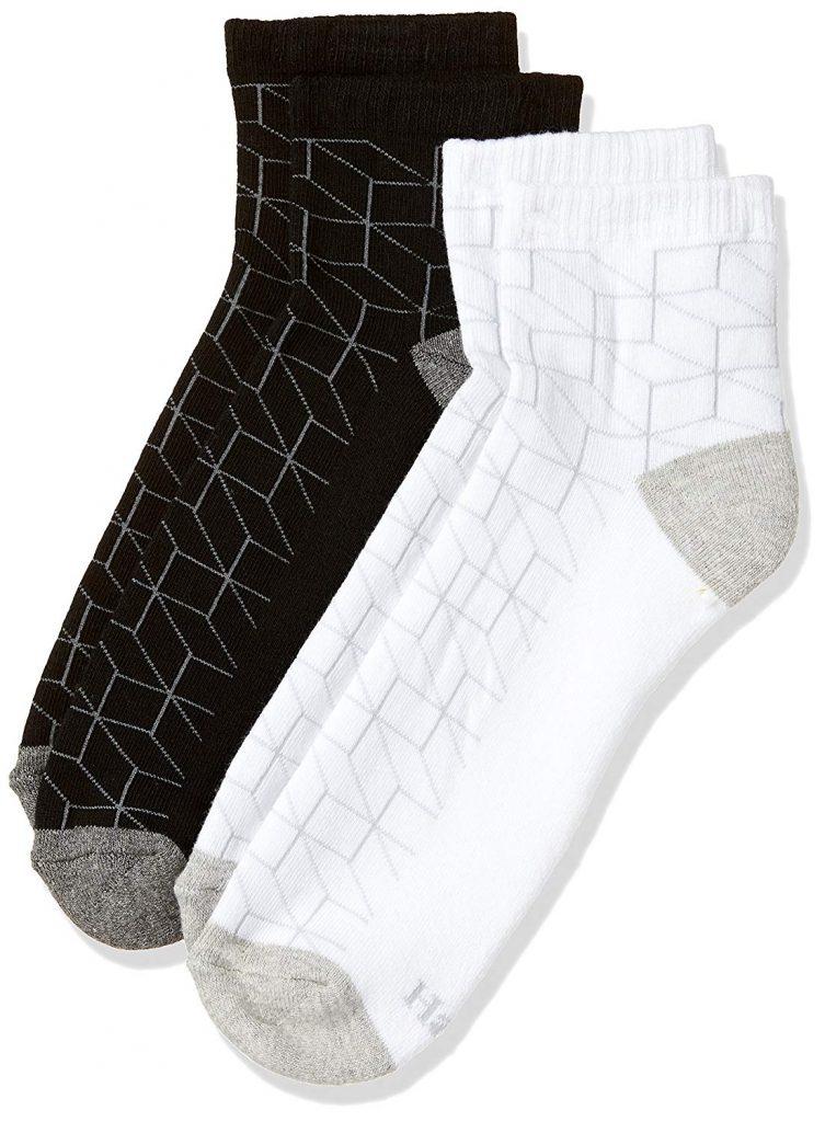 Amazon India : Hanes Men's Ankle Socks (Pack of 2)