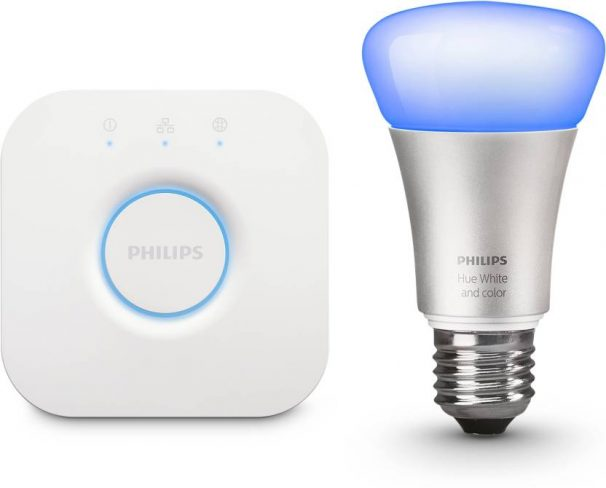 Flipkart : Philips Hue Mini Starter Kit with 10-Watt E27 Bulb (White Ambiance, Color Ambiance)