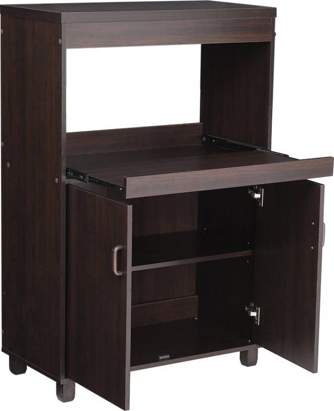 Flipkart : Woodness Trinity Engineered Wood Kitchen Cabinet  (Finish Color - Chocolate)#JustHere