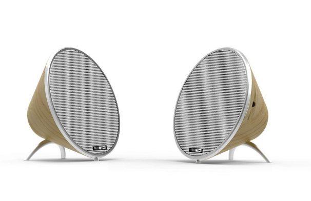 Amazon India : Altec Lansing Twin Bluetooth Speakers - Light Wood