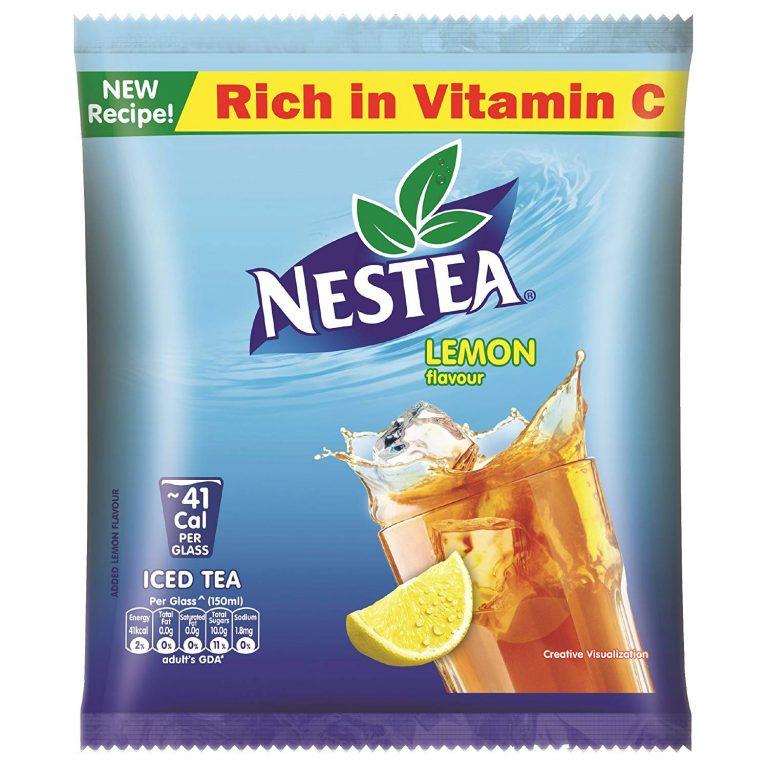 Amazon India : NESTEA Instant Lemon Iced Tea, 400g Pouch