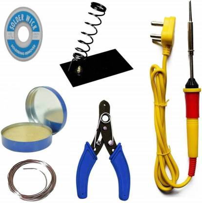 Flipkart : RIVI soldering iron kit 25 W Simple  (Conical Tip)
