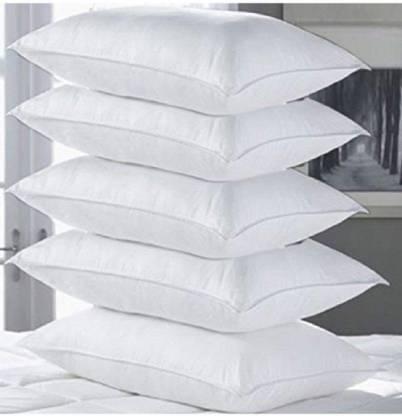 Flipkart : eGizmo Solid Bed/Sleeping Pillow Pack of 5  (White)