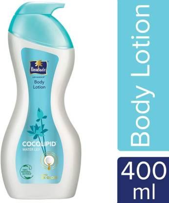 Flipkart : Parachute Advansed Body Lotion - Cocolipid & Water Lily  (400 ml)