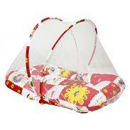 Amazon India : Littly Contemporary Cotton Baby Bedding Set - Random Print (Red/White)