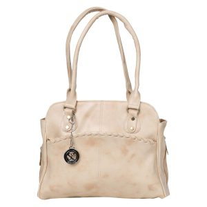 Amazon India : Styler King Styish Circle Bind Desgine Sholder Bag(Cream)