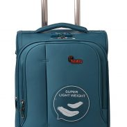 Amazon India : F Gear Aspire Polyester 54 cms Ocean Blue Softsided Cabin Luggage
