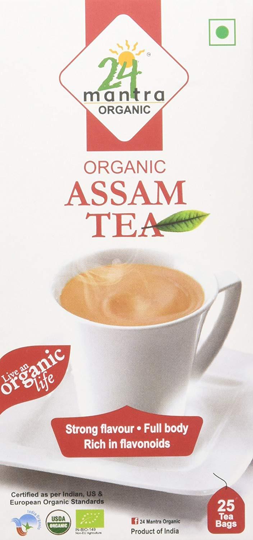 Amazon India : 24 Mantra Assam Tea, 25 Tea Bags