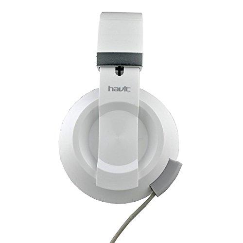 Amazon India : Havit HV-H2171D Headphones (White/Grey)