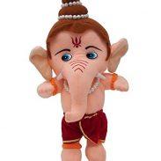 Amazon India : LVS Toys Lord Ganesha Hindu Idol Soft Teddy Bear in 25 cm
