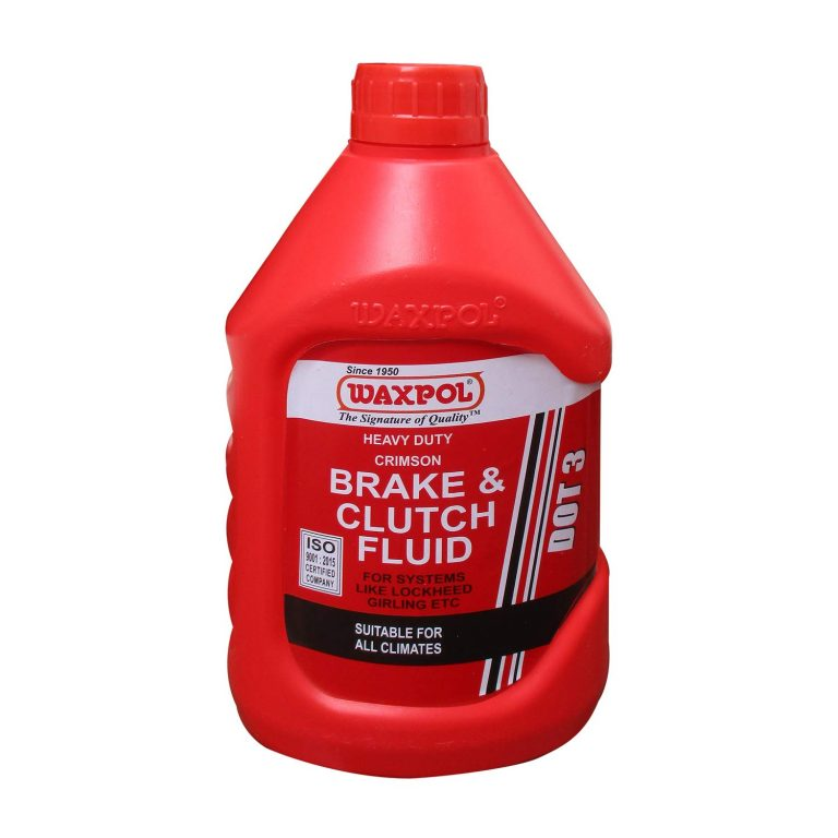 Amazon India : Waxpol DOT 3 Brake & Clutch Fluid 500 ml